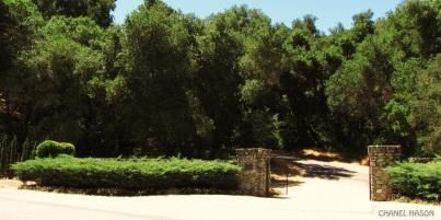 Enterance Gate.