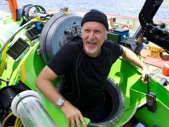 James Cameron Did It! He Made It To the Bottom of the Ocean. (Credit: Mark Thiessen, National Geographic)