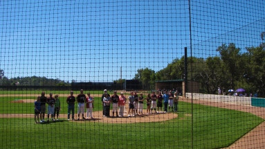Senior Day at Westmont.