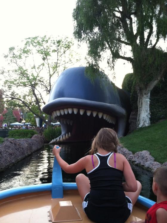 Megan and Disneyland