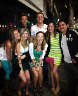 My group of friends at my Birthday Bar Crawl.