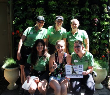 San Diego Zoo trainers support Chanel!
