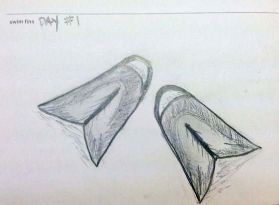 Day 1 : Swim Fins