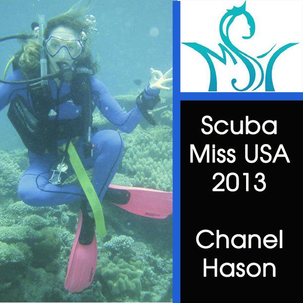 I AM Scuba Miss USA! (1/2)