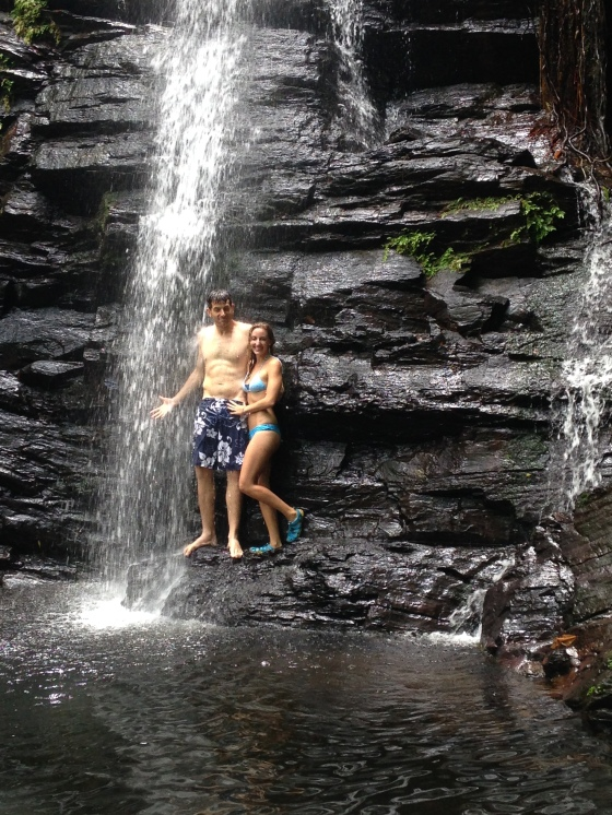 Adam Chanel Waterfall Belize