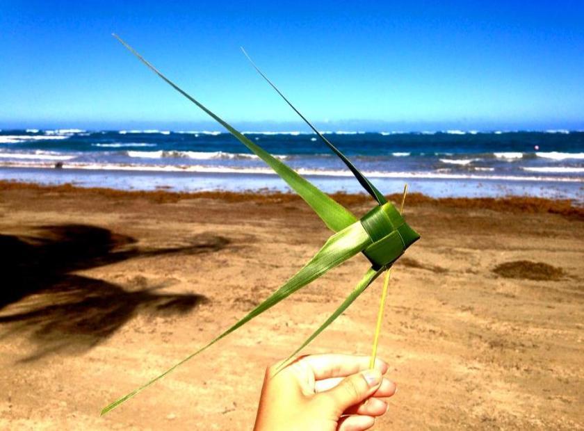 Angel Fish Palm Leaf Weave